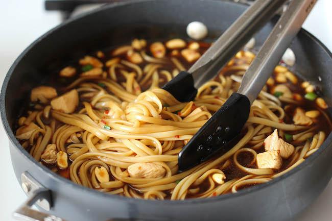 CPKs Kung Pao SpaghettiDamn Delicious