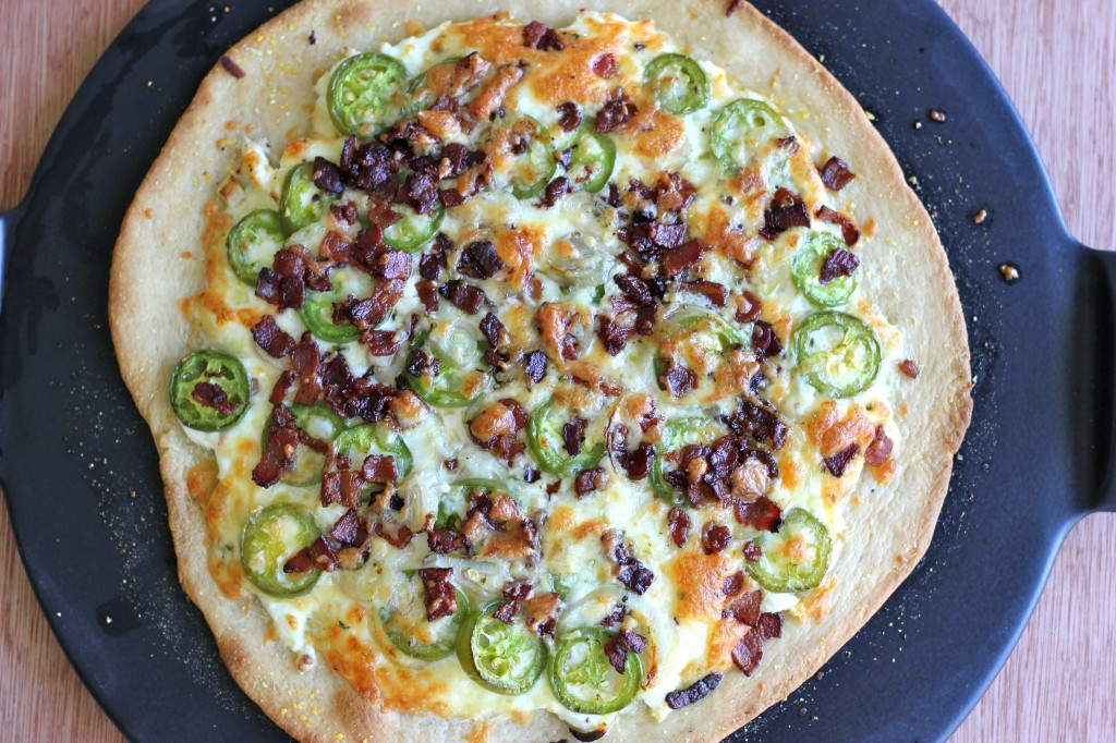 Jalapeño Popper Pizza - All the flavors of a jalapeño popper is so ...