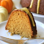 Pumpkin Bundt Cake with Pumpkin Glaze