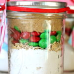 M&M Cookies in a Jar