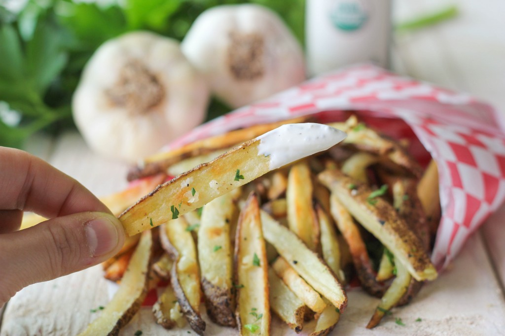 Garlic Truffle Fries - It's amazing what a little truffle oil can do ...