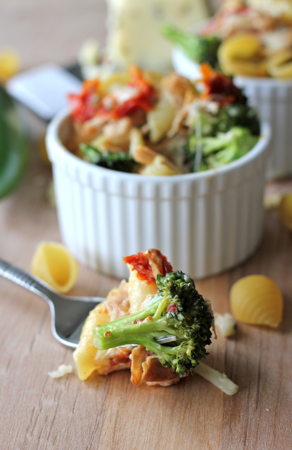 Broccoli Chicken Mac and Cheese - This lightened-up mac and cheese is ...