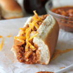 Bacon-Wrapped Chili Cheese Dogs