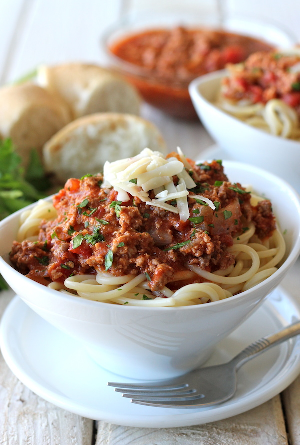 Bolognese Sauce - Homemade ragu that tastes so much better than the ...