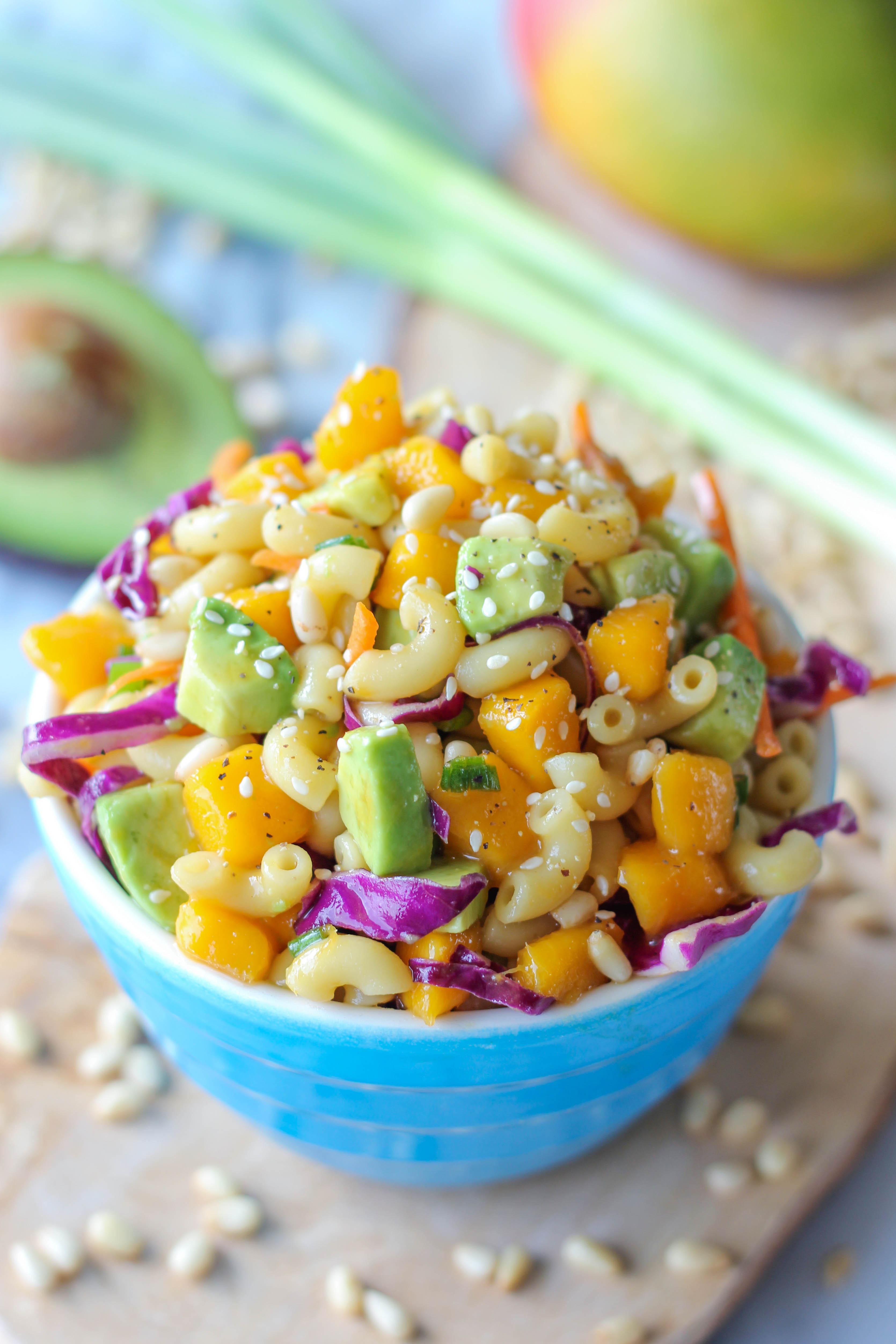 Asian Pasta Salad - Damn Delicious
