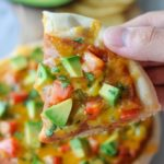 Grilled Nacho Pizza