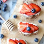 Berry Crostini with Whipped Goat Cheese