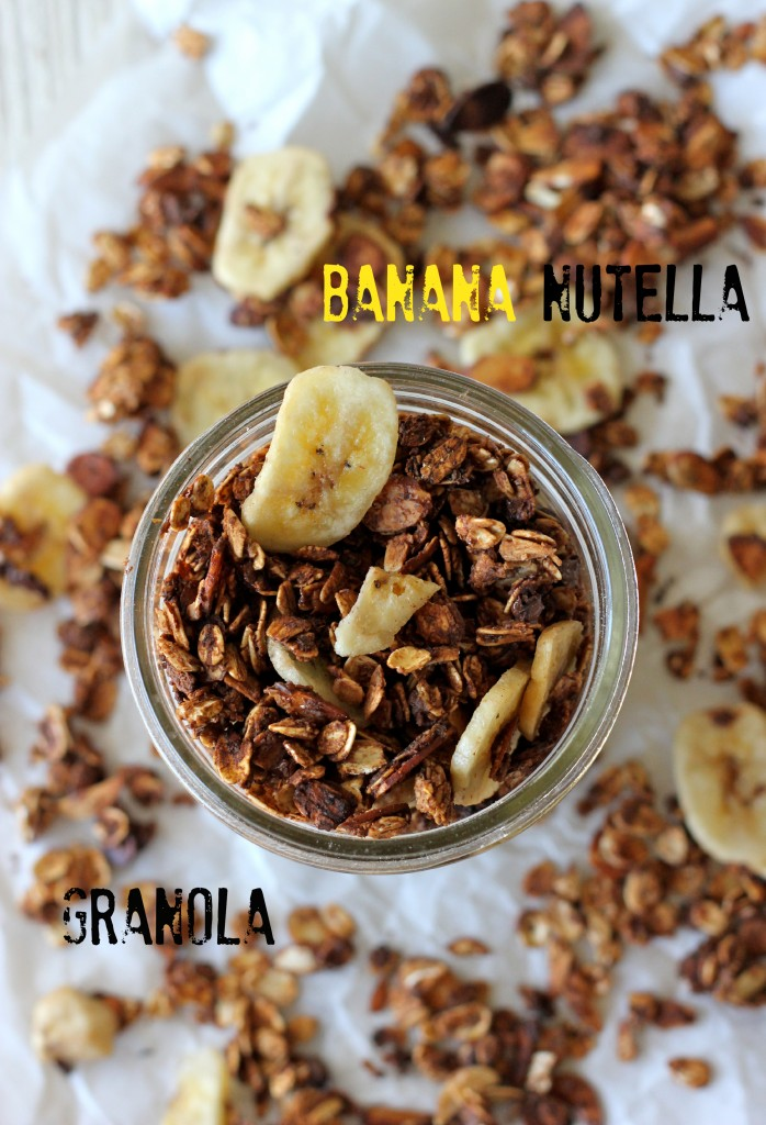 Banana Nutella Granola