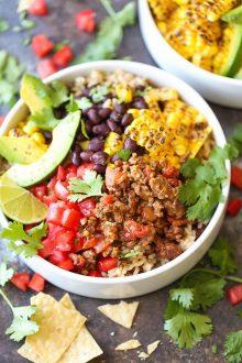 Taco Meal Prep Bowls