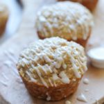 Vanilla Glazed Apple Cinnamon Muffins