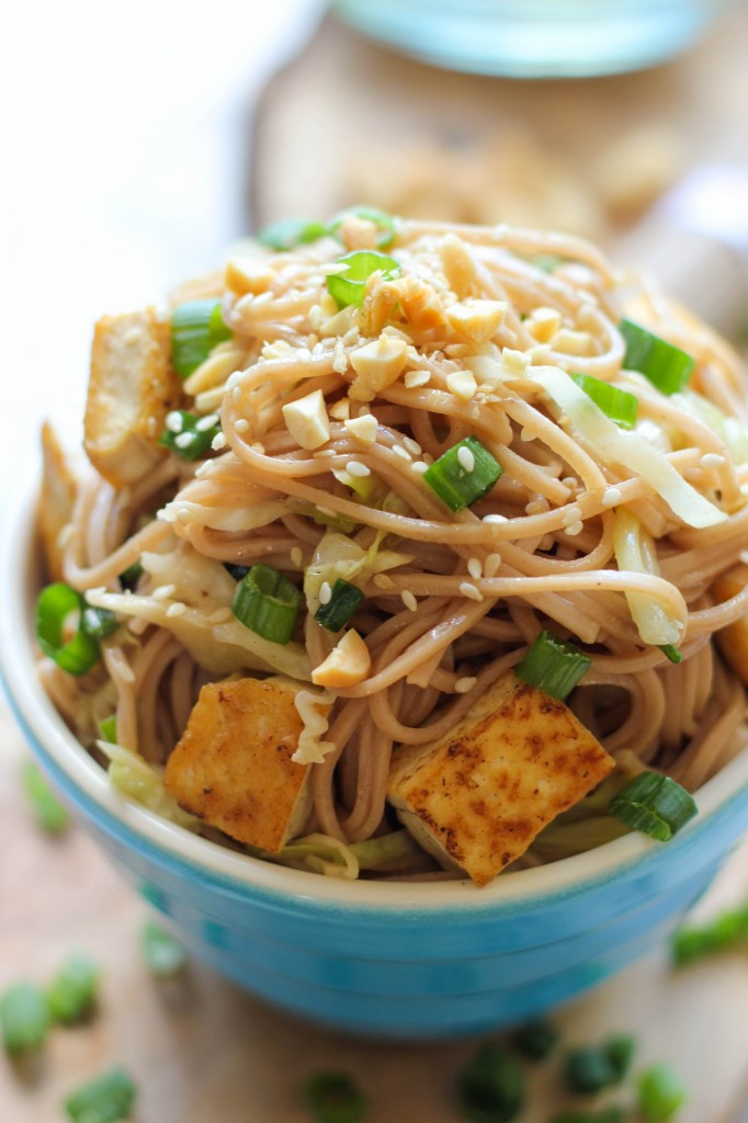 Spicy Peanut Sauce With Brown Rice Noodles And Veggies Recipes ...