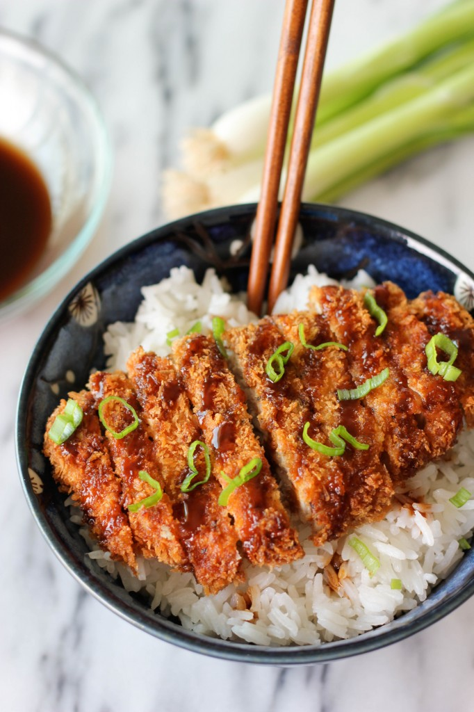 Tonkatsu (Japanese Pork Cutlet) - These Japanese style pork cutlets ...