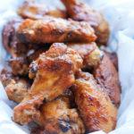 Baked Apple Butter Brown Sugar Wings