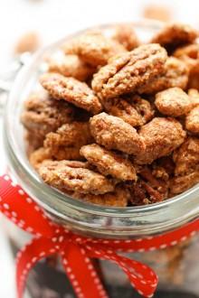 Spicy Cinnamon Sugar Candied Nuts
