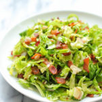 Brussels Sprouts Bacon Salad
