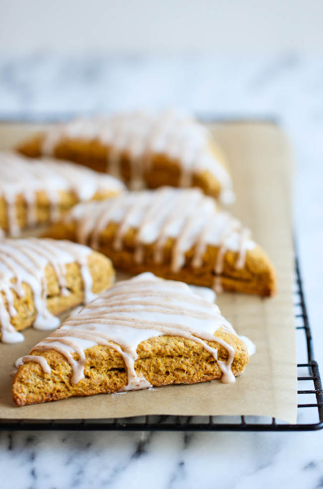 Starbucks Pumpkin Scones Copycat Recipe - These copycat scones are so ...