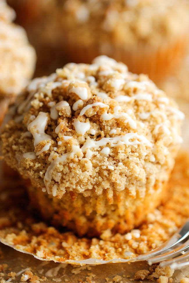 Coffee Cake Muffins - The classic coffee cake is transformed into a ...