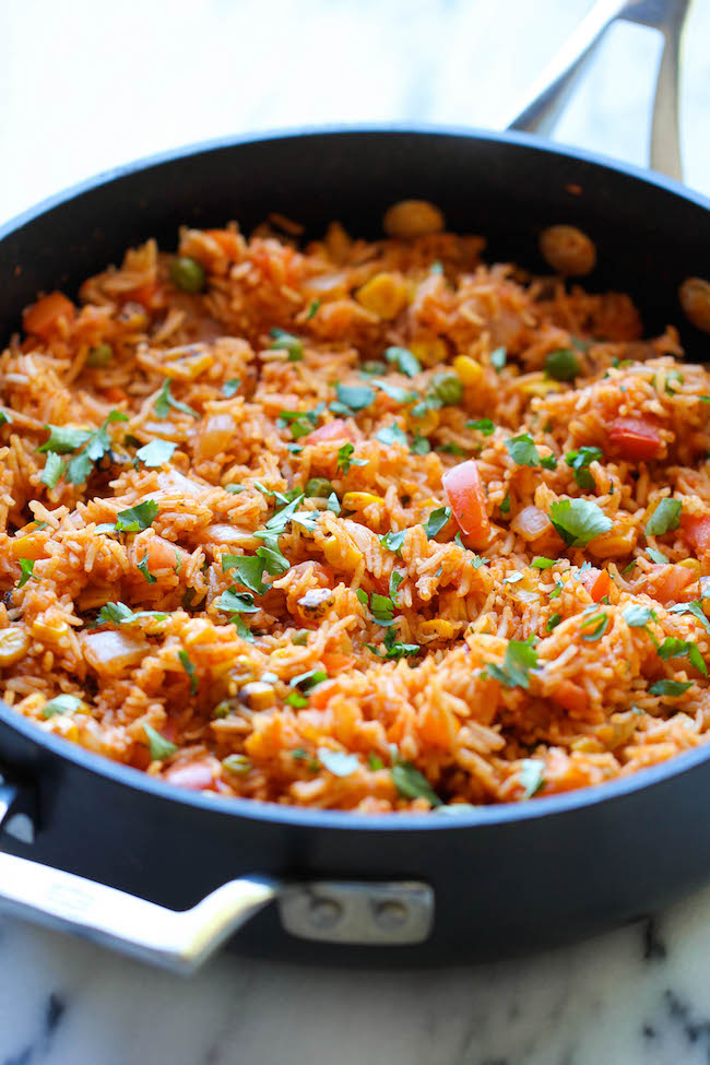 Mexican Rice - Restaurant-style Mexican rice can easily be made right ...