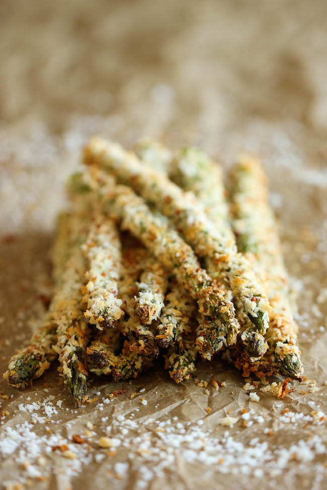 Baked Asparagus Fries from Damn Delicious | What to Bring to Friendsgiving