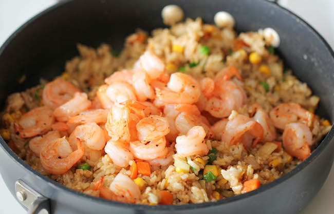 Shrimp Fried Rice - Why order take-out? This homemade version is so ...