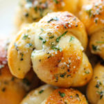 Easy Garlic Parmesan Knots
