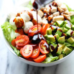 Caprese Avocado Salad