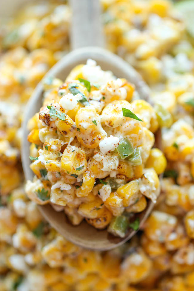Mexican Corn Dip - The traditional Mexican street corn is turned into ...