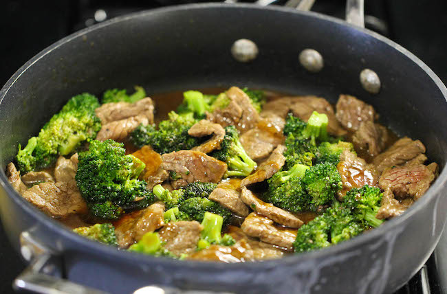 Easy Beef and Broccoli - The BEST beef and broccoli made in just 15 min. And yes, it's quicker, cheaper and healthier than take-out!