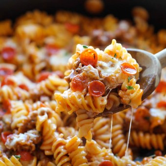 Recipe rotini pasta bake