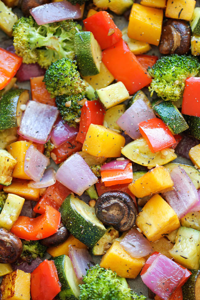 Roasted Vegetables - The easiest, simplest, and BEST way to roast ...