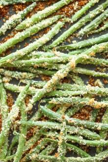 Baked Green Bean Fries