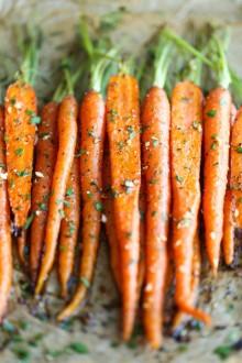 Garlic Roasted Carrots