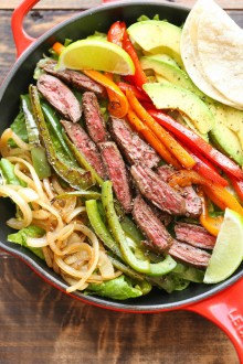 Steak Fajita Salad