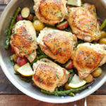 Lemon Chicken with Asparagus and Potatoes