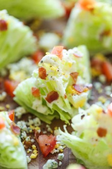 Mini BLT Wedge Salads