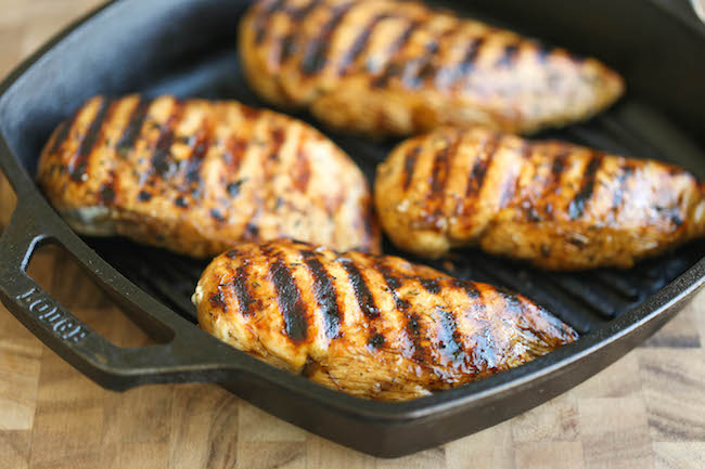 Easy and fast grilled chicken recipes