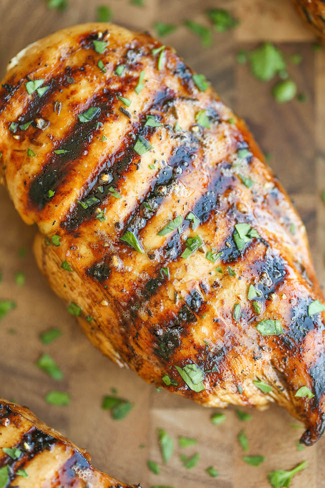 Easy Grilled Chicken - The best and easiest marinade ever - no-fuss ...