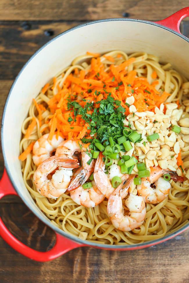 Kalbi Shrimp and Noodle Stir Fry | Kowalski's Markets