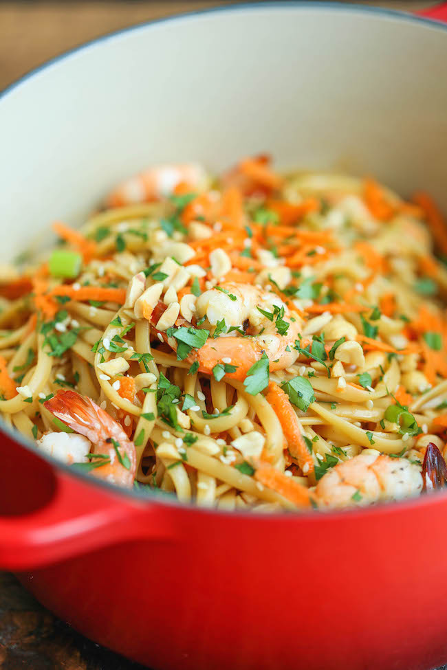 Easy shrimp recipes with noodles