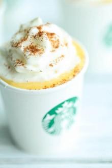 Healthy Pumpkin Puppuccinos