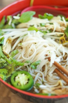 Cheater Pho (Asian Noodle Soup)