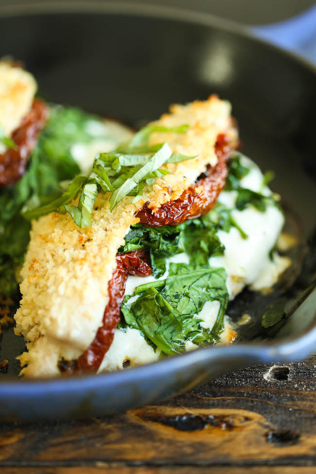 Spinach stuffed chicken thigh recipes