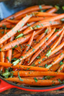 Cinnamon Brown Sugar Carrots