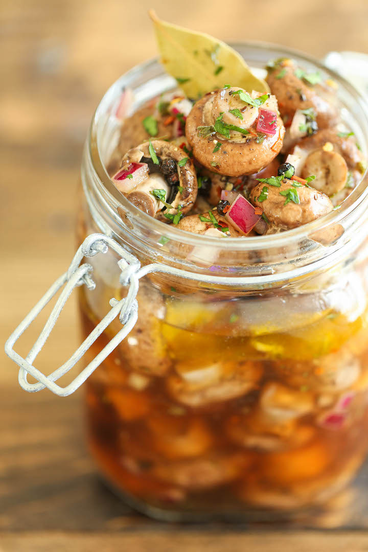 Easy Marinated Mushrooms - Quick, no-fuss with 10 min prep. You can ...