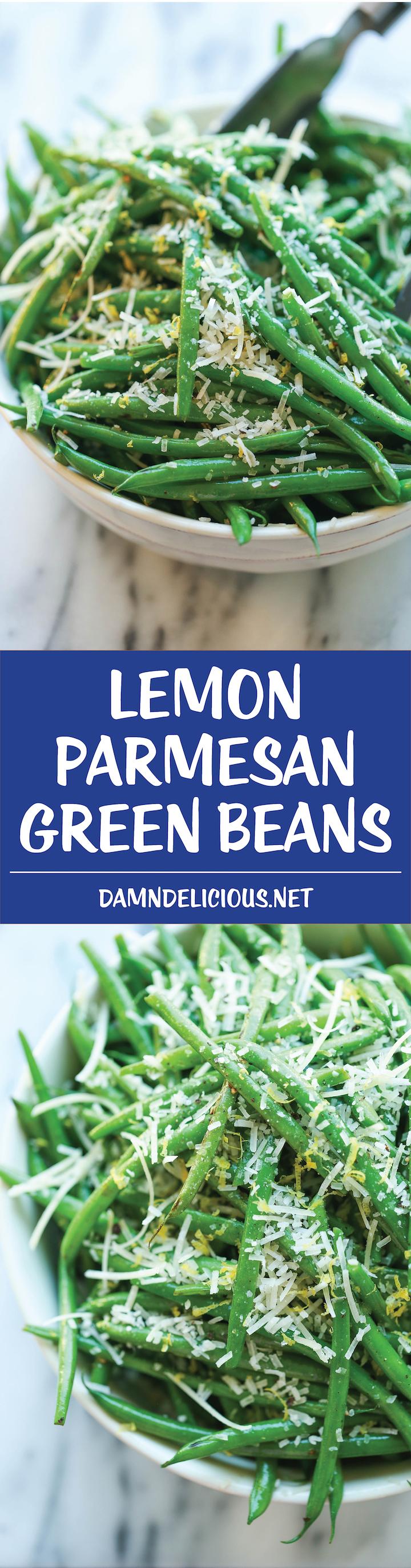parmesan green beans lemon parmesan parmesan cheese skillet green ...
