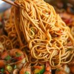 Asian Garlic Noodles