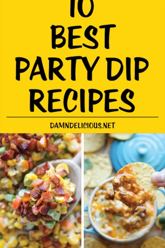 10 Best Party Dip Recipes