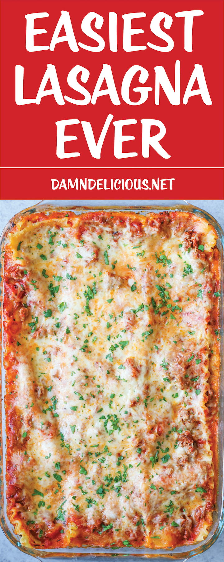 Easiest Lasagna Ever