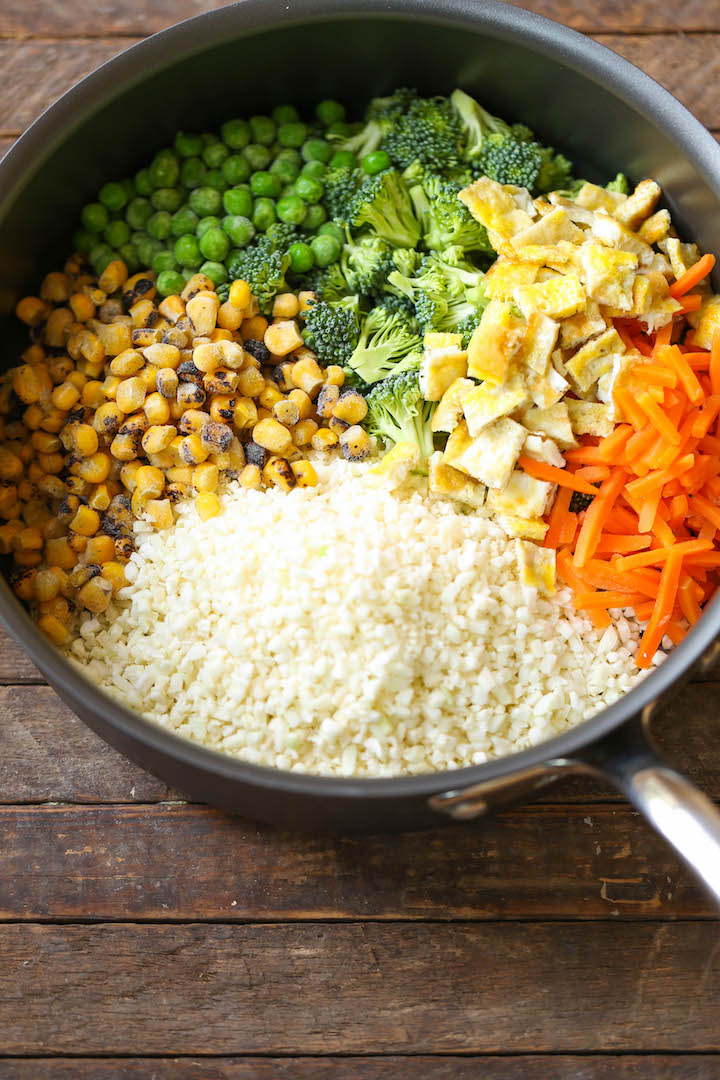 Cauliflower Rice - An amazingly healthy twist on takeout fried rice ...