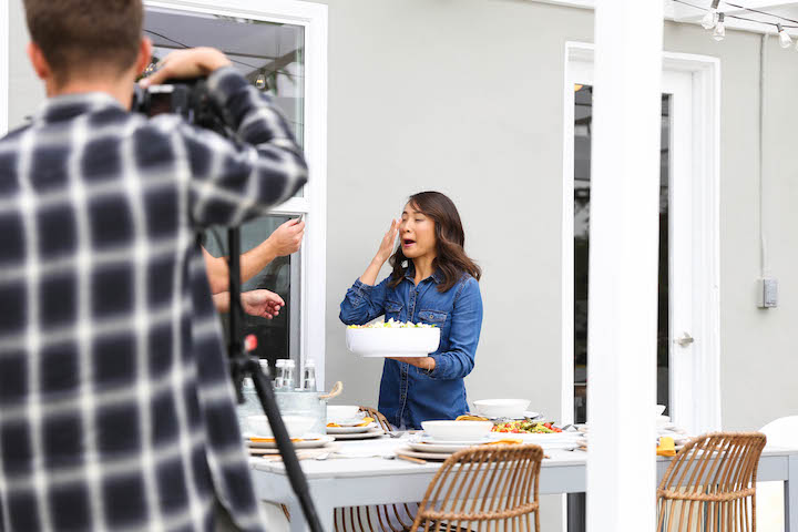 Damn Delicious Cookbook Cover Photoshoot - A look behind-the-scenes of my upcoming cookbook cover photoshoot, coming this September!